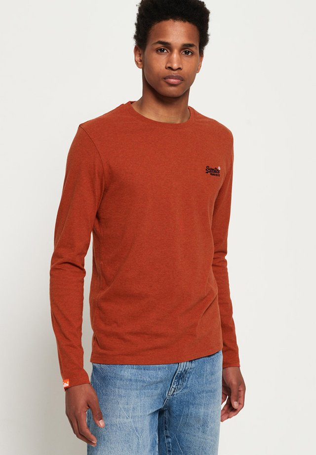 ORANGE LABEL - Longsleeve - sierra orange marl