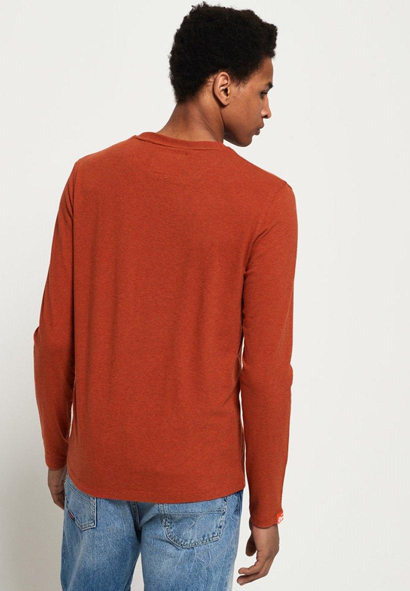 Superdry ORANGE LABEL - Bluzka z długim rękawem - sierra orange marl
