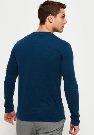 ORANGE LABEL - Långärmad tröja - blue