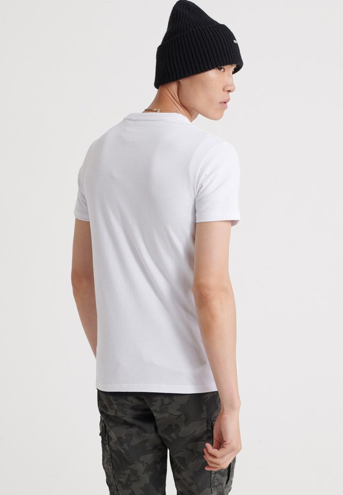 TYPE CITYT TICKET Shirt white print Superdry N8myOvn0w