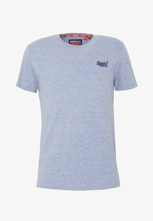 LABEL VINTAGE TEE - T-shirt basic - flint blue grit
