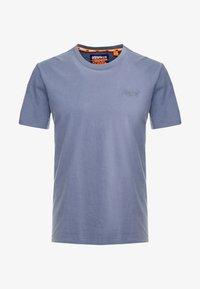 Superdry - ORANGE LABEL LITE TEE - T-shirt basic - dry slate blue - 3