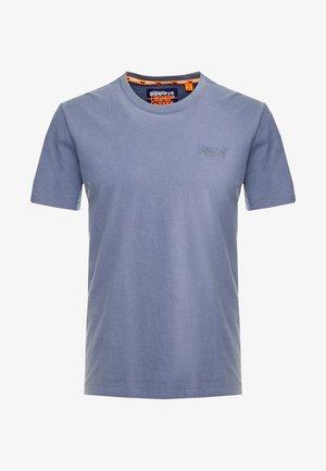ORANGE LABEL LITE TEE - Jednoduché triko - dry slate blue