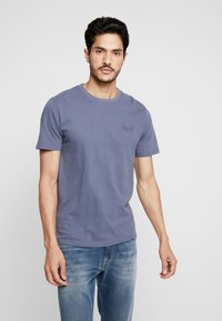 Superdry - ORANGE LABEL LITE TEE - T-shirt basic - dry slate blue - 0