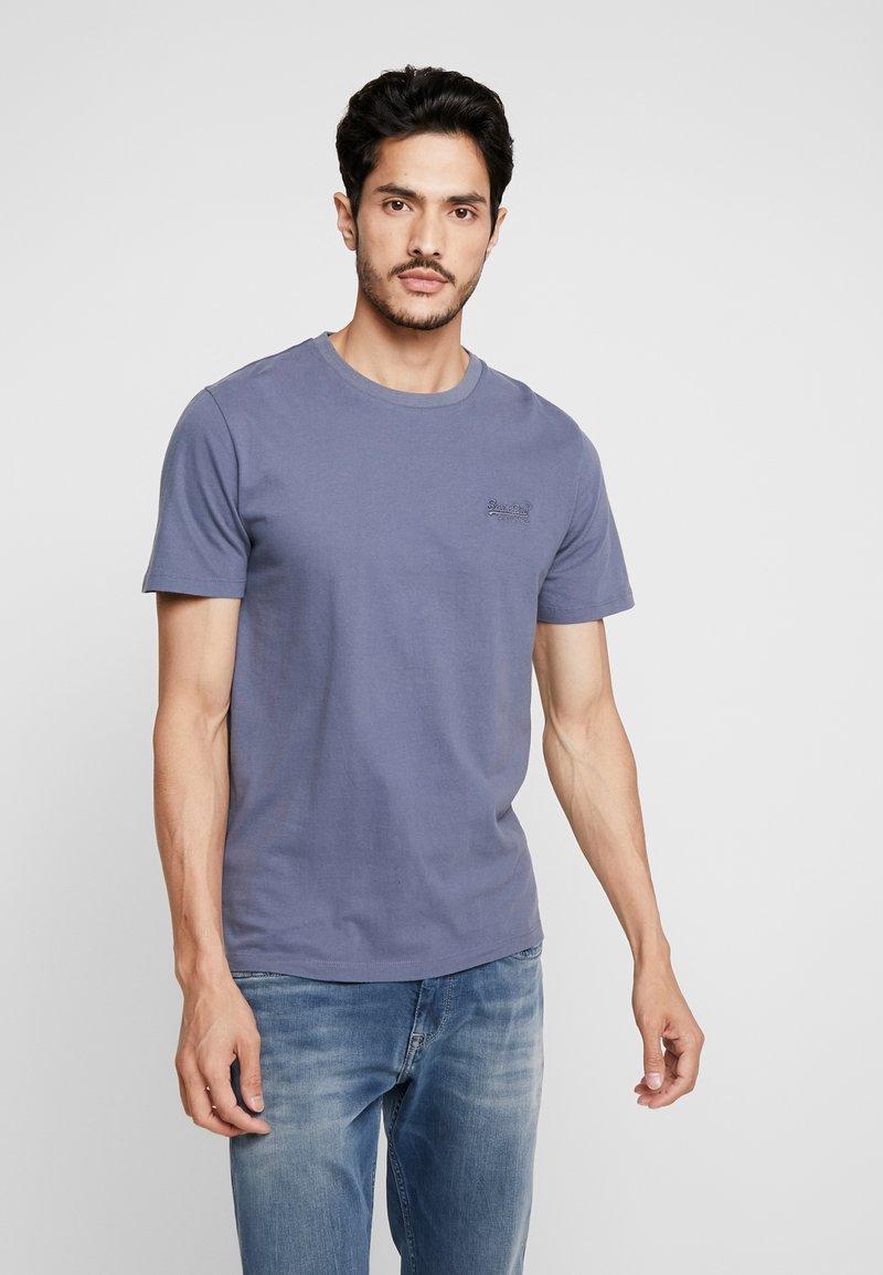 Superdry - ORANGE LABEL LITE TEE - T-shirt basic - dry slate blue