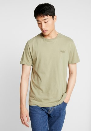 ORANGE LABEL LITE TEE - Jednoduché triko - oil green