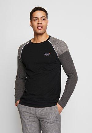 DESERT BASEBALL - Long sleeved top - black