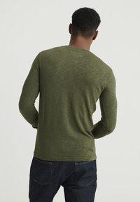 Superdry - LEGACY GRANDAD - Långärmad tröja - green - 2