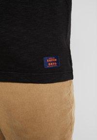 Superdry - LEGACY GRANDAD - Bluzka z długim rękawem - vintage black - 5