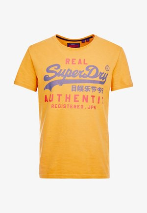 AUTHENTIC DUO TEE - T-shirt print - spectra yellow