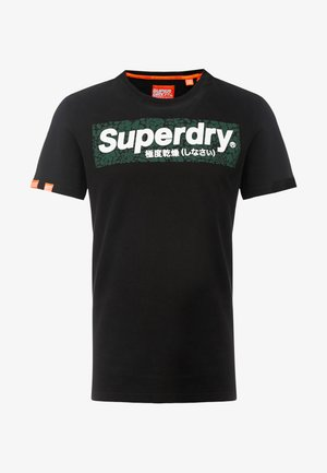 INTERNATIONAL INFILL  - T-shirt con stampa - black