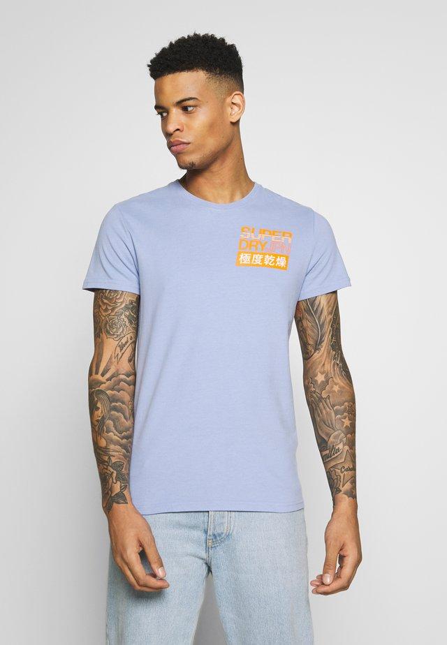 TEE - Print T-shirt - rich blue
