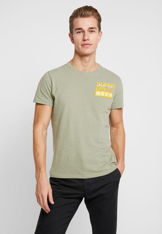 TEE - T-shirt print - oil green