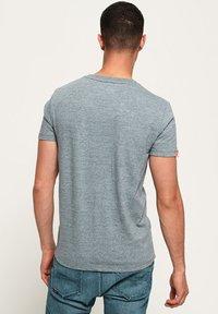 Superdry - T-shirt basic - creek blue grit grindle - 2