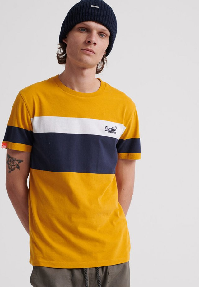 ORANGE LABEL - T-shirt print - yellow