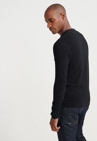 Superdry - Långärmad tröja - black - 2
