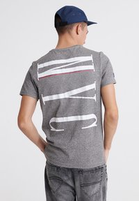 Superdry - T-shirt print - phoenix grey - 2