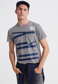 Superdry - T-shirt print - phoenix grey - 0