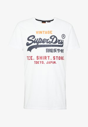SHOP TRI TEE - T-shirt print - optic