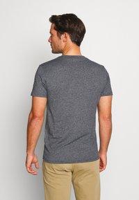 Superdry - SHOP TRI TEE - T-shirt print - classic blue feeder - 2