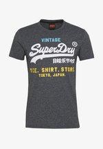 SHOP TRI TEE - T-shirt imprimé - classic blue feeder