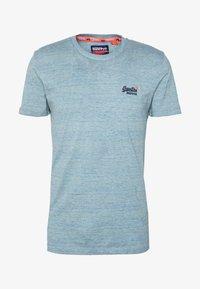 Superdry - VINTAGE CREW - T-shirt basic - sky blue - 3