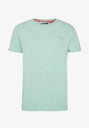 VINTAGE CREW - T-Shirt basic - fresh mint space dye