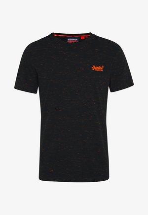 VINTAGE CREW - Camiseta básica - black