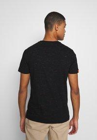 Superdry - VINTAGE CREW - T-shirt basic - black - 2