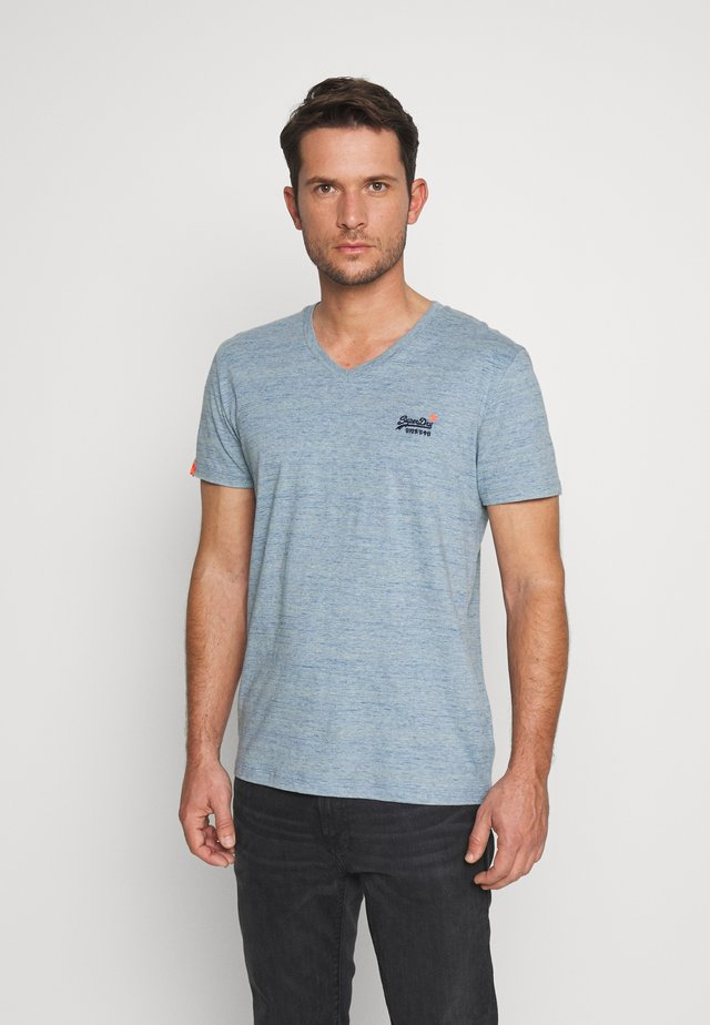 OL VINTAGE EMB - T-shirt print - sky blue