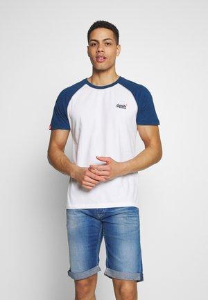 OL CLASSIC SS BASEBALL TEE - Camiseta estampada - optic