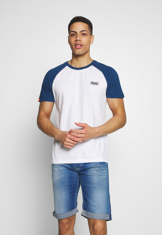 OL CLASSIC SS BASEBALL TEE - T-shirt med print - optic