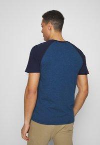 Superdry - OL CLASSIC SS BASEBALL TEE - Camiseta estampada - rich blue - 2