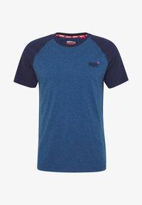 Superdry - OL CLASSIC SS BASEBALL TEE - Camiseta estampada - rich blue - 3