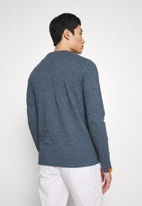 Superdry - OL VINTAGE EMB  - Camiseta de manga larga - blue grindle - 2