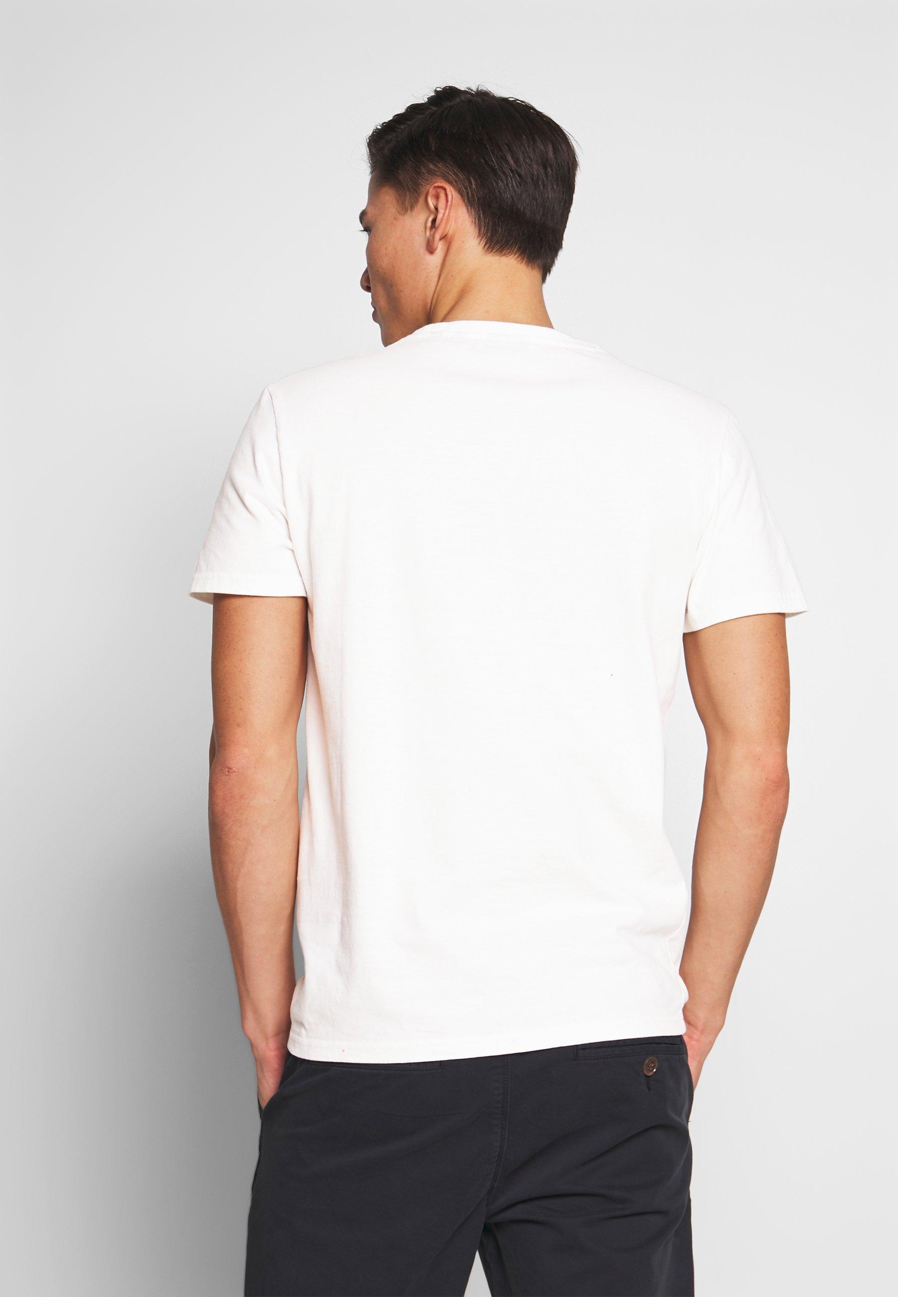 Superdry BONDED  - T-shirts med print - desert bone