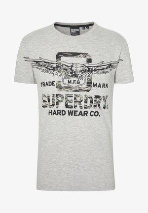 DESERT CLASSIC TEE - T-shirt print - mottled grey