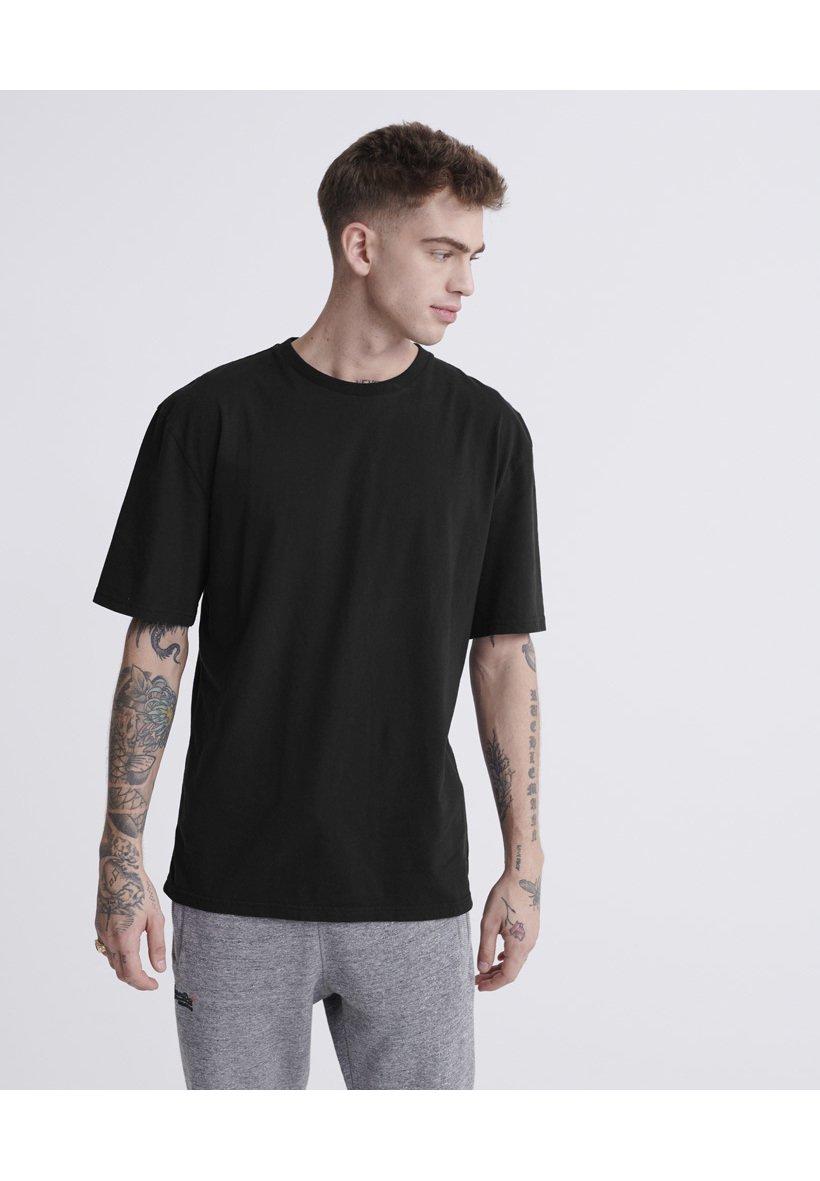 Superdry T-shirt basic - black