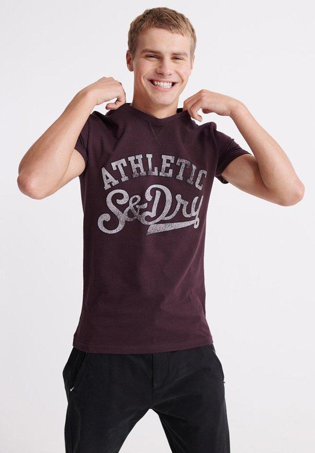 CLASSIC VARSITY - T-shirt print - autumn blackberry