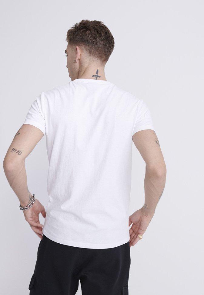 Superdry T-shirt Med Print - White