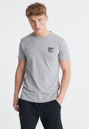 CORE  - Print T-shirt - grey marl
