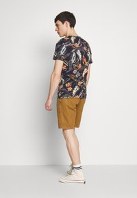 Superdry - TEE - T-shirt med print - indo navy - 2