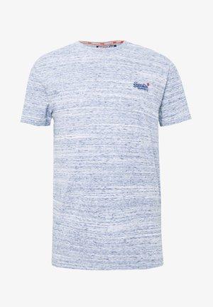 VINTAGE EMBROIDERY TEE - T-shirt print - mist blue space