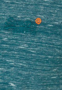 Superdry - VINTAGE EMBROIDERY TEE - T-shirt print - deep teal space - 2