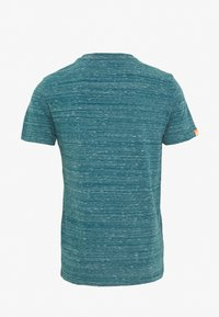 Superdry - VINTAGE EMBROIDERY TEE - T-shirt print - deep teal space - 1
