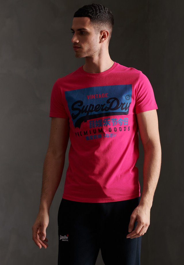 TEE - T-shirt con stampa - raspberry