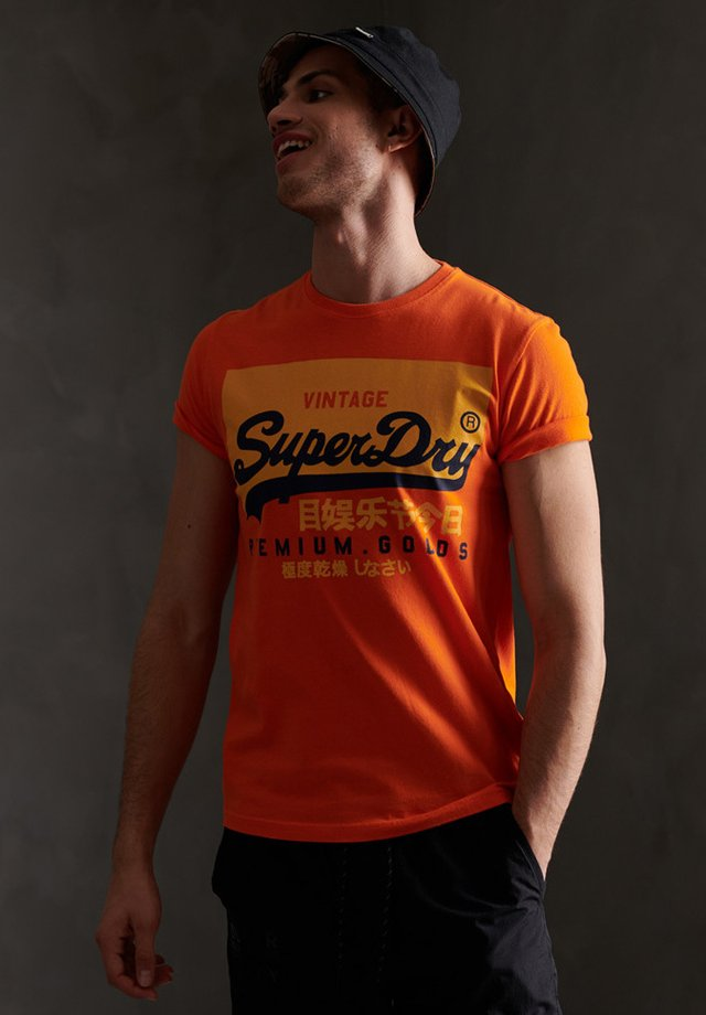 TEE - T-shirt print - denver orange