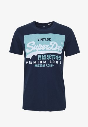 TEE - Camiseta estampada - nautical navy