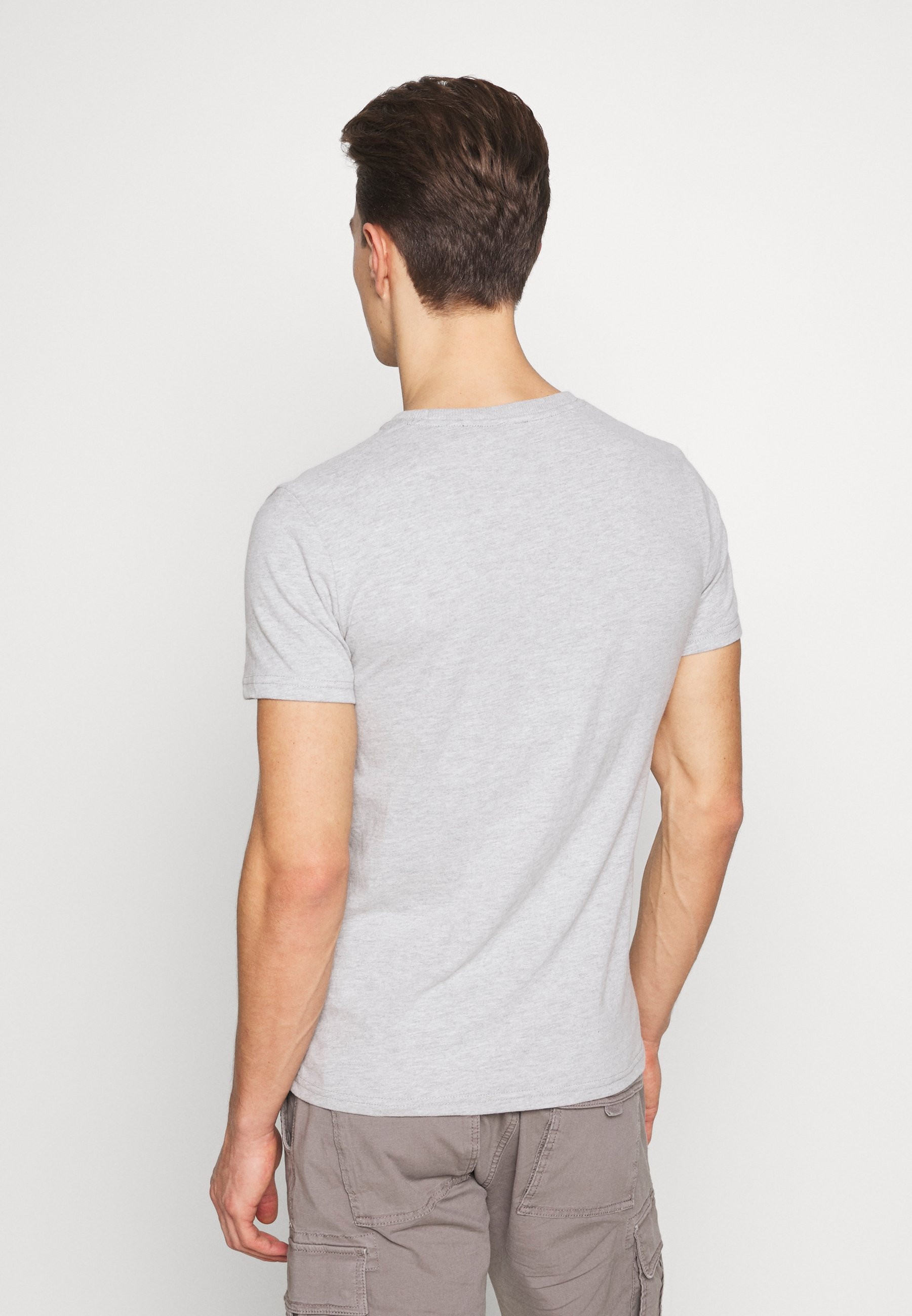 Superdry INFILL STORE TEE - T-shirt con stampa - grey marl