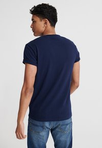 Superdry - MOTOR - T-Shirt print - rich navy - 2